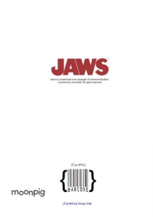 Greeting Cards - Jaws Totally Jawsome Personalised Card - Image 4