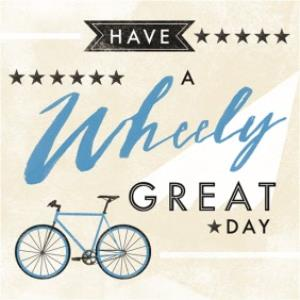Greeting Cards - Men's birthday card - male card - cycling - bike - Image 1