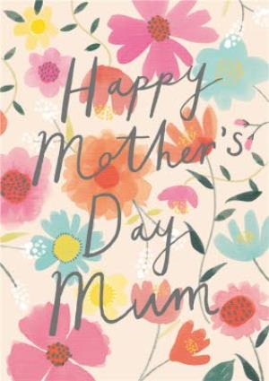 Greeting Cards - Mother's Day Card - Floral Pattern  - Image 1
