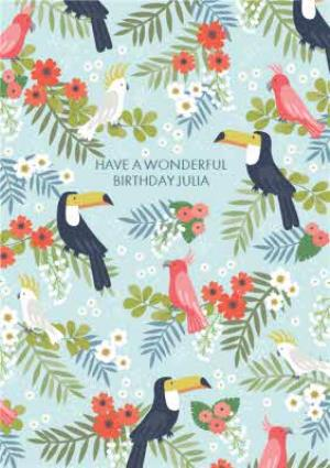 Greeting Cards - Birthday Card - Have a wonderful Birthday - Pelican - Image 1