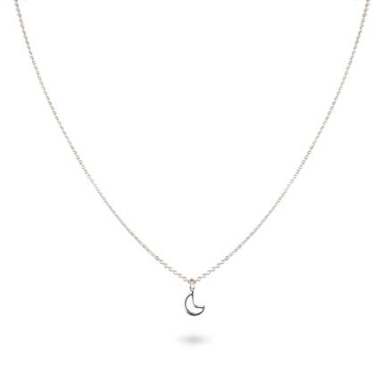 Jewellery & Accessories - Love You To The Moon & Back Silver Necklace - Image 3