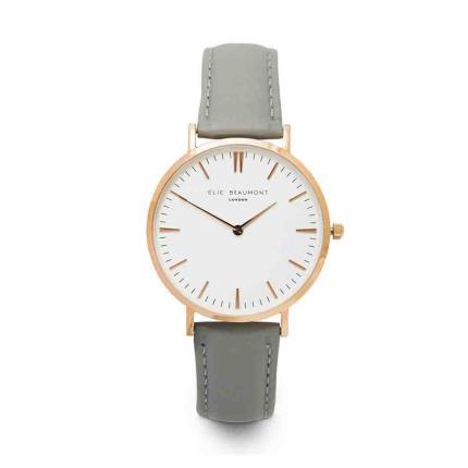 Jewellery & Accessories - Elie Beaumont Oxford Grey Watch - Image 1