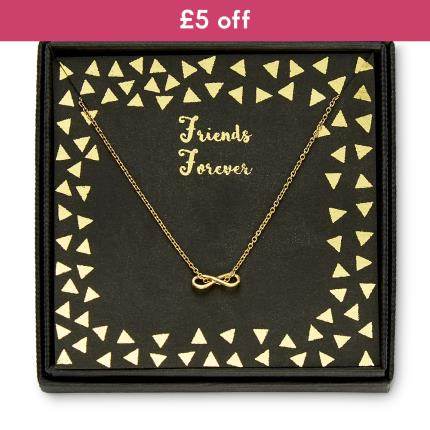 Jewellery & Accessories - Friends Forever Infinity Necklace WAS £25 NOW £20 - Image 1