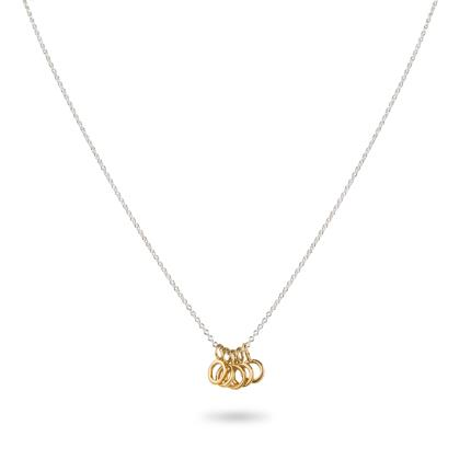 Jewellery & Accessories - Five Gold Rings Necklace WAS £35 NOW £23 - Image 4