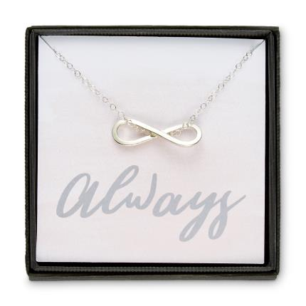 Jewellery & Accessories - Posh Totty Designs Infinity Charm Necklace - Image 1