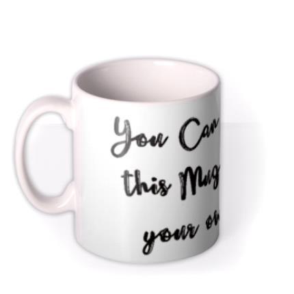 Mugs - Typewriter Personalised Mug - Image 1