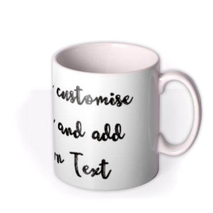 Mugs - Typewriter Personalised Mug - Image 2