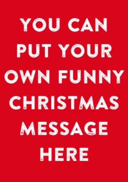T-Shirts - Merry Christmas Say Anything Funny Red Personalised T-shirt - Image 4