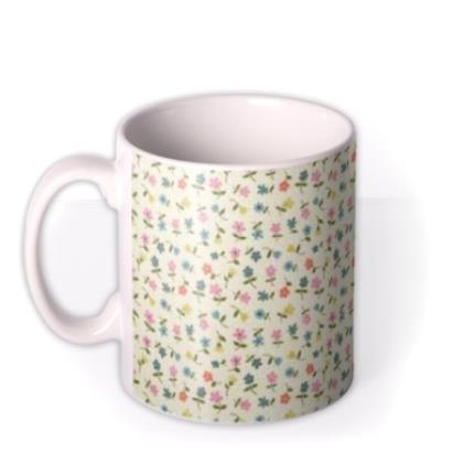 Mugs - Birthday Mug - floral - specially brewed for - Image 1