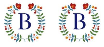 Mugs - Birthday Mug - floral - monogrammed - initial - Image 4