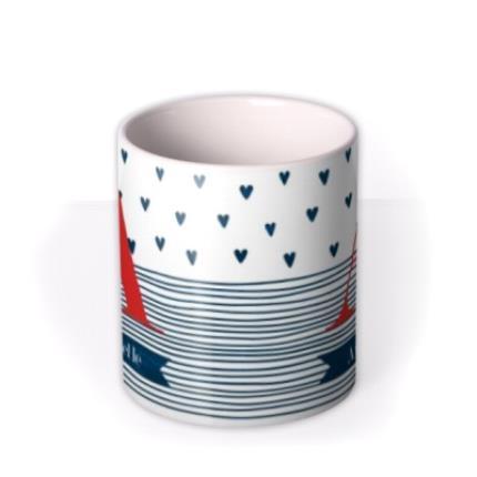 Mugs - Birthday Mug - monogrammed - initials - hearts - Image 3