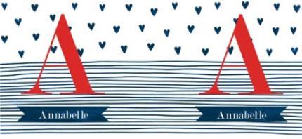 Mugs - Birthday Mug - monogrammed - initials - hearts - Image 4