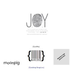 Greeting Cards - Joy Our Love Grows Everyday Card - Image 4