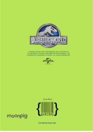 Greeting Cards - Jurassic World 5Th Birthday Photo Upload Card - Image 4