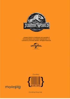 Greeting Cards - Birthday card - dinosaurs - jurassic world - tyrannosaurus rex - Image 4
