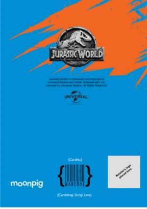 Greeting Cards - Birthday card - dinosaurs - jurassic world - indoraptor - Image 4