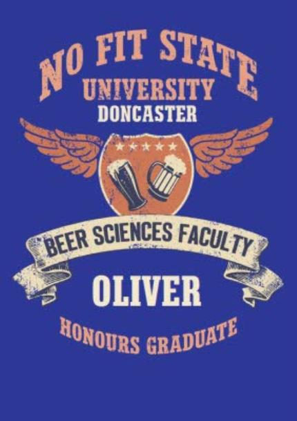 T-Shirts - Beer Science Faculty Personalised T-shirt - Image 4