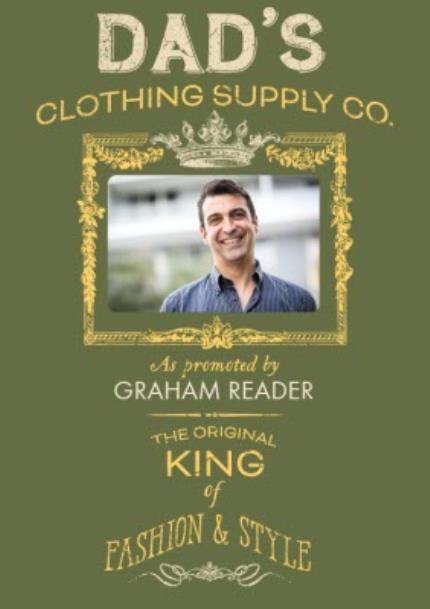 T-Shirts - Dad's Clothing Co Photo Upload T-shirt - Image 4