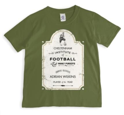 T-Shirts - Institute of Football Personalised T-shirt - Image 1
