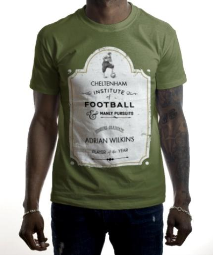 T-Shirts - Institute of Football Personalised T-shirt - Image 2