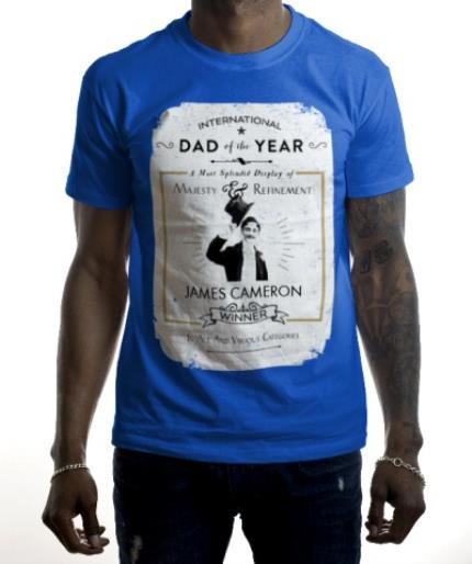 T-Shirts - Father's Day Dad Of The Year Personalised T-shirt - Image 2