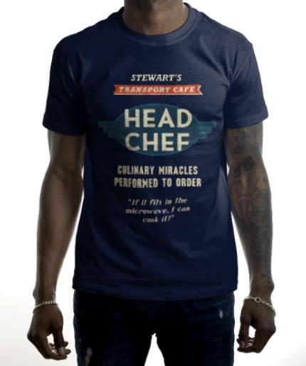 T-Shirts - Head Chef Personalised T-shirt - Image 2