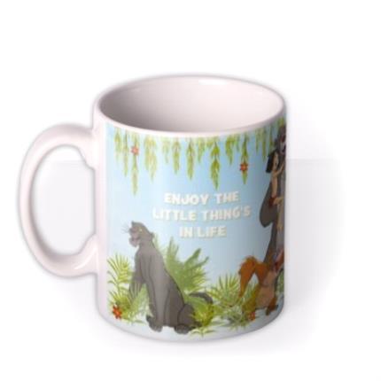 Mugs - Disney Jungle Book Little Things Photo Upload Mug - Image 1