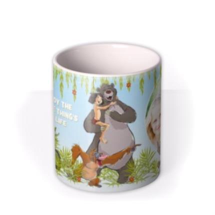 Mugs - Disney Jungle Book Little Things Photo Upload Mug - Image 3