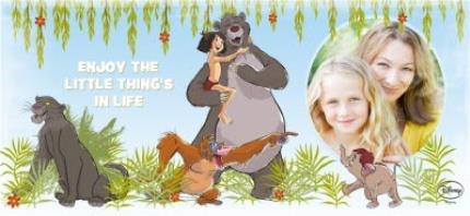 Mugs - Disney Jungle Book Little Things Photo Upload Mug - Image 4