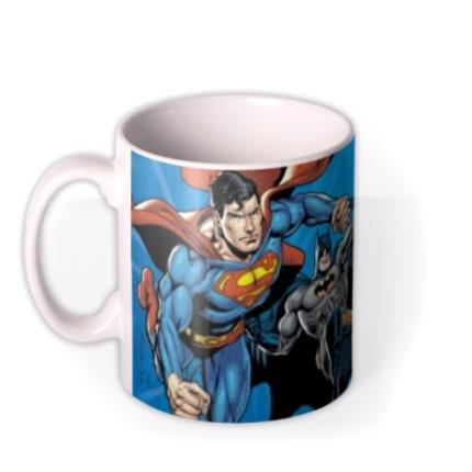 Mugs - Justice League Action Sequence Personalised Name Mug - Image 1