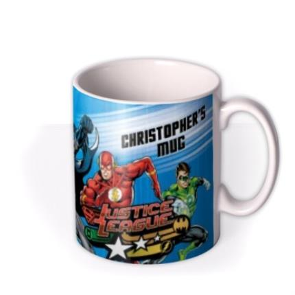 Mugs - Justice League Action Sequence Personalised Name Mug - Image 2