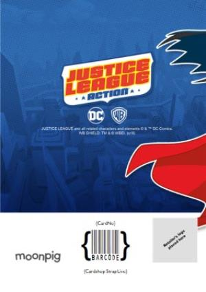 Greeting Cards - Justice League Photo Upload Happy Birthday Card - Image 4