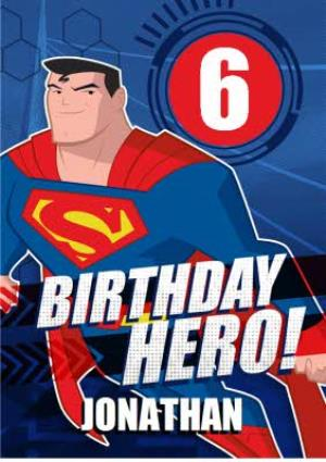 Greeting Cards - Justice League Birthday Hero Card - Image 1