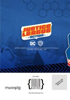 Greeting Cards - Justice League Birthday Hero Card - Image 4
