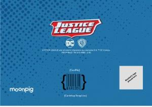 Greeting Cards - Justice League photo upload Epic Birthday card - Image 4
