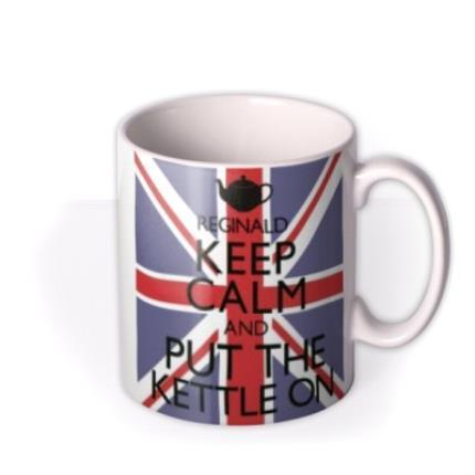 Mugs - Keep Calm Kettle Personalised Mug - Image 2