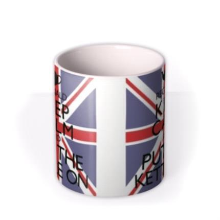 Mugs - Keep Calm Kettle Personalised Mug - Image 3