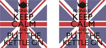Mugs - Keep Calm Kettle Personalised Mug - Image 4