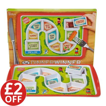 Toys & Games - Dinner Winner Plate - WAS £15 NOW £13 - Image 1