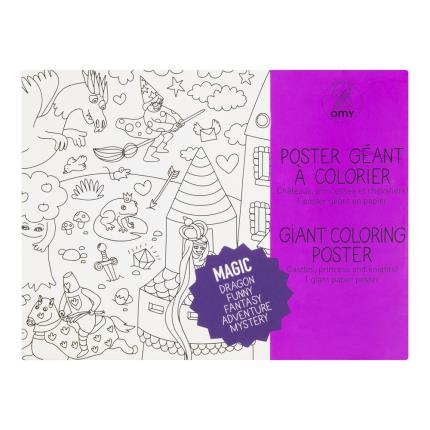 Toys & Games - Magic Giant Colouring Poster - Image 1