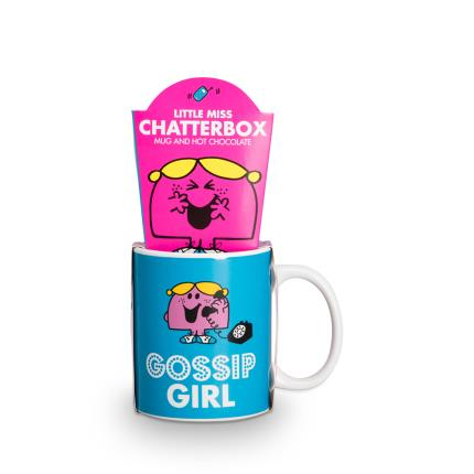 Toys & Games - Little Miss Chatterbox Hot Chocolate Mug  - Image 1