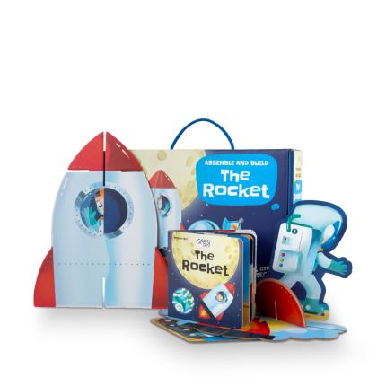 Toys & Games - Assemble and Build The Rocket - Image 1