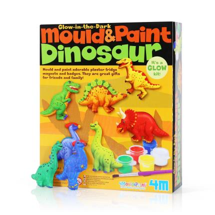Toys & Games - Mould & Paint Glow Dinosaur - Image 1