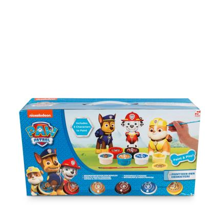 Toys & Games - Paw Patrol Paint Your Own Figures 3 Pack - Image 1