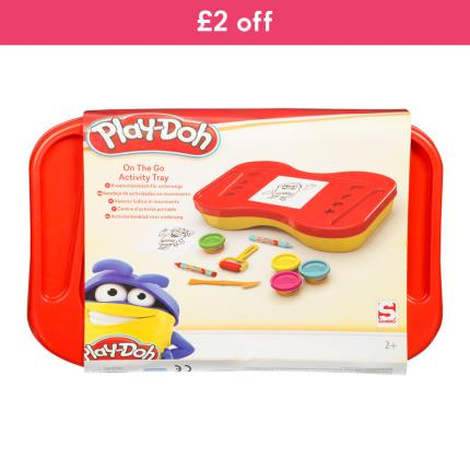 Toys & Games - Playdoh On The Go Activity Tray - WAS £15 NOW £13 - Image 1