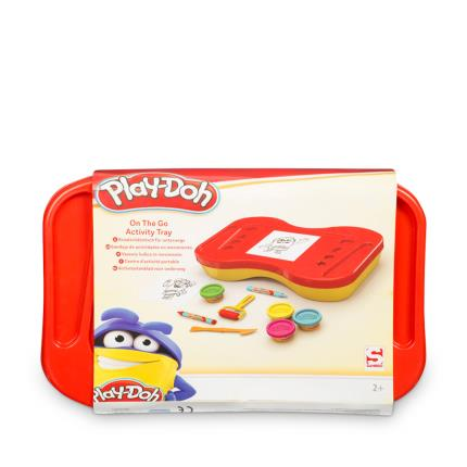 Toys & Games - Playdoh On The Go Activity Tray - WAS £15 NOW £13 - Image 3