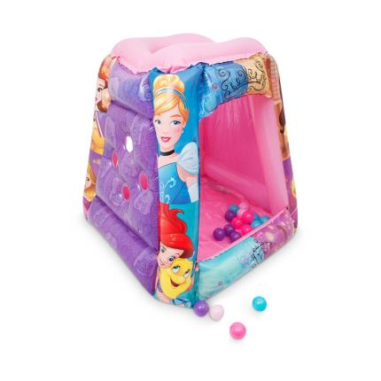 Toys & Games - Princess Playland Square Ball Pit with 20 Balls - Image 1