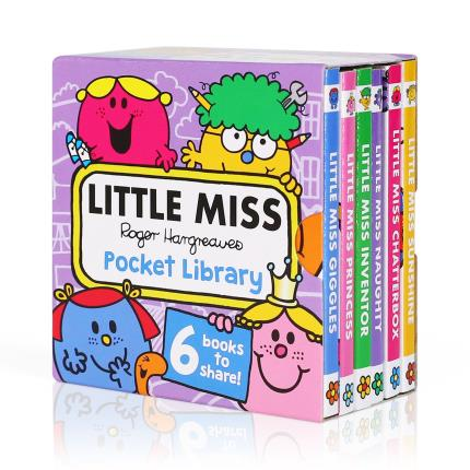 Toys & Games - Little Miss Pocket Library - Image 1