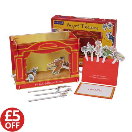 Toys & Games - Roald Dahl Puppet Theatre - WAS £15 NOW £10 - Image 1