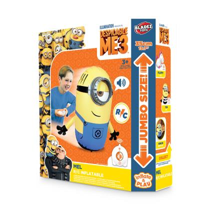 Toys & Games - R/C Inflatable Minion Mel - Image 1